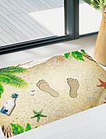abordables -Autocollants de sol - Autocollants avion Paysage Salle de séjour Chambre à coucher Salle de bain Cuisine Salle à manger Bureau / Bureau