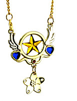 cheap -Cosplay Accessories Inspired by Cardcaptor Sakura Sakura Kinomoto Anime Cosplay Accessories 1 Necklace Alloy