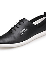 cheap -Men's Shoes PU(Polyurethane) Spring Comfort Sneakers White / Black