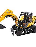 cheap -YIJIATOYS Building Blocks 359pcs Holiday / Vehicles / Fashion Construction Truck Set / Dozer / Excavator All Gift