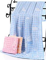 abordables -Qualité supérieure Serviette de bain, Tartan / Bande dessinée Polyester / Coton 1 pcs