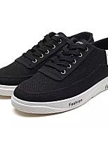 economico -Per uomo Scarpe Tessuto Autunno Suole leggere Sneakers Bianco / Nero / Beige
