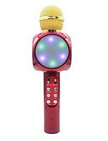 Недорогие -1816 Bluetooth Микрофон Беспроводной динамик Динамический микрофон Ручной микрофон Назначение Микрофон для караоке