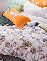 cheap -Duvet Cover Sets Cartoon 100% Cotton Polyster Reactive Print 4 Piece
