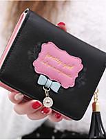 cheap -Women's Bags PU Wallet Appliques / Zipper for Outdoor Blushing Pink / Purple / Fuchsia