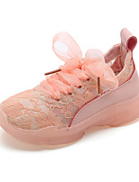 cheap -Girls' Shoes Patent Leather Spring & Summer Comfort Sneakers Buckle for Yellow / Blue / Pink