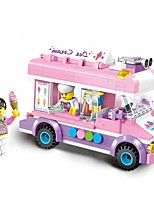 cheap -Building Blocks 213pcs Car / Ice Cream City View Gift