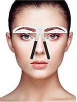 Недорогие -1pcs штук Шаблон для бровей Нержавеющая сталь Глаза / Лицо Переносной / Универсальная профессиональный уровень / Портативные Макияж