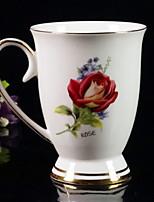 abordables -Drinkware Porcelaine Tasse Portable Boyfriend cadeaux Athermiques 1pcs