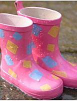 cheap -Girls' Shoes Rubber Spring & Summer Rain Boots Boots for Blue / Pink