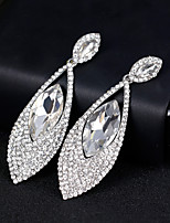 cheap -Women's Drop Earrings - Drop Simple, European, Fashion Silver For Wedding / Daily