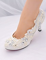 cheap -Women's Shoes Lace / Paillette Spring & Summer Basic Pump / Slingback Wedding Shoes Stiletto Heel Pointed Toe Rhinestone / Sequin /