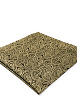 cheap -Men's Vintage / Party / Work Pocket Squares - Solid Colored / Paisley / Jacquard