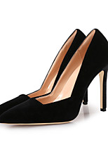 cheap -Women's Shoes Velvet Spring & Summer Basic Pump Heels Stiletto Heel Pointed Toe Gray / Wine / Dark Red / Party & Evening