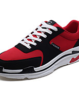 cheap -Men's Shoes Fabric Fall Light Soles Sneakers Black / Gray / Red