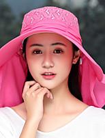 Недорогие -Жен. Праздник Вязаная шапочка Хлопок, Однотонный