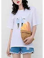 preiswerte -Damen Porträt T-shirt
