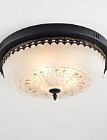 cheap -Retro Flush Mount Ambient Light - Eye Protection, 110-120V 220-240V Bulb Not Included