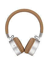 abordables -LH001 Bandeau Sans Fil Ecouteurs Dynamique Aluminum Alloy / Similicuir Jeux Écouteur Stereo Casque