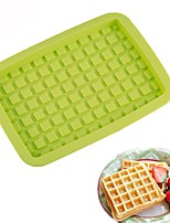cheap -Bakeware tools Silicone Creative / DIY For Bread / For Cookie / Waffle Cake Molds 1pc