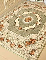 cheap -Area Rugs Casual Cotton / Polyester Blend, Rectangular Superior Quality Rug