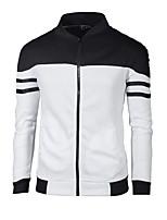cheap -Men's Active Sweatshirt - Color Block