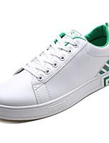 economico -Per uomo Scarpe PU (Poliuretano) Primavera & Autunno Comoda Sneakers Argento / Bianco / nero / Bianco e verde
