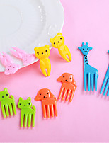 cheap -Kitchen Tools Plastics Adorable / Creative Fork Fruit / Rice balls 10pcs