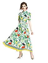 cheap -SHE IN SUN Women's Chinoiserie Sheath Dress - Geometric Print