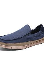 cheap -Men's Shoes Rubber Spring / Summer Comfort Loafers & Slip-Ons Beige / Dark Blue / Blue