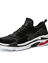 cheap -Men's Shoes Tulle Summer Comfort Sneakers Black / Gray / Red
