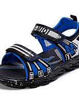 Недорогие -Мальчики Обувь Полиуретан Лето Удобная обувь Сандалии для Черный / Темно-синий / Тёмно-синий