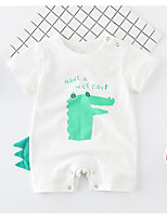 cheap -Baby Unisex Geometric Short Sleeve Overall & Jumpsuit