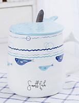 abordables -Drinkware Porcelaine Tasse Dessin-Animé Mignon 1pcs