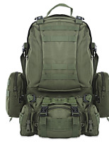 cheap -40L Hiking Backpack - Rain-Proof, Wearable Camping, Military, Travel Oxford Army Green, Camouflage, Khaki