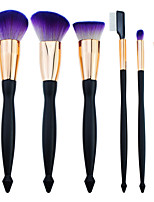 cheap -6-Pack Makeup Brushes Professional Makeup Brush Set Nylon fiber Eco-friendly / Soft Plastic