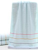 abordables -Style frais Serviette, Rayé Qualité supérieure Polyester / Coton 100% Coton Etoffe jacquard 1pcs