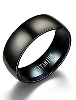 cheap -Band Ring - Vintage 6 / 7 / 8 Black For Daily / Evening Party / Bar