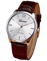 cheap -Men's Dress Watch Chinese Chronograph Stainless Steel Band Casual Brown