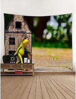Недорогие -Лягушка Декор стены Полиэстер Современный Modern Предметы искусства, Стена Гобелены Украшение