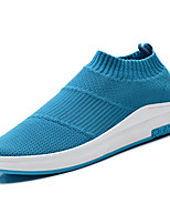 abordables -Homme Chaussures Polyuréthane Automne Confort Mocassins et Chaussons+D6148 pour De plein air Noir Gris Bleu