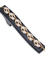 abordables -Femme Perle Chaînes & Bracelets / Bracelet / Bracelet Chaîne - Imitation de perle, Plaqué or Bracelet Or Pour Mariage / Quotidien