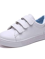cheap -Women's Shoes Rubber Summer Comfort Sneakers Flat Heel for Outdoor White Blue Pink