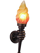 Недорогие -Новый дизайн Деревенский стиль Настенные светильники Гостиная / На открытом воздухе Смола настенный светильник 40W
