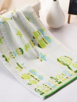 abordables -Qualité supérieure Serviette de bain / Essuie-mains, Géométrique Polyester / Coton 1 pcs