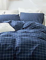 cheap -Duvet Cover Sets Geometric Poly / Cotton 100% Cotton Reactive Print 4 Piece