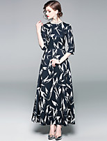 cheap -SHIHUATANG Women's Street chic Swing Dress - Floral Print