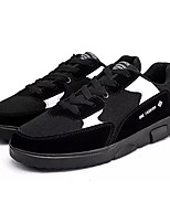cheap -Men's Shoes Rubber Spring / Summer Comfort Sneakers Black / Gray / Red