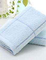 abordables -Qualité supérieure Serviette, Couleur Pleine Polyester / Coton / 100% Coton 1 pcs