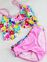 cheap -Kids Girls' Going out Floral Swimwear